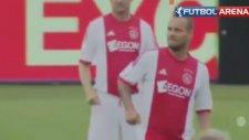Sneijder Ajax'la Özlem Giderdi