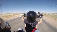 6 Yaşındaki Çocuk Harley Davidson Kullanıyor