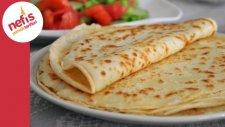 Kahvaltılık Krep Tarifi (Sesli Anlatımı İle) | Nefis Yemek Tarifleri