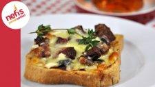 Kahvaltılık Minik Pizza   Nefis Yemek Tarifleri