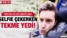 Selfie Çekerken Tekme Yedi!
