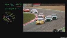 Virajda Sabit Hızlı Yarış Arabaları