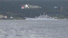 Üç Rus Savaş Gemisi Çanakkale Boğazı'ndan Geçti