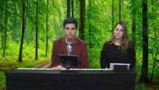En Güzel Şarkılar KIZ SEN GELDİN ÇERKEŞ'TEN Akustik Piyano Solo Türk Sanat Müziği Piyanist Resitali