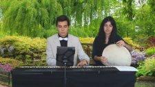 Türkmen Gelini Adıyaman Yöresi Eyvanına Vardım Eyvanı Çamur Solo Piyano Düet Türkü Usta Bağlama Sazı