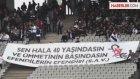 Beşiktaş Taraftarından Hz. Peygamber Pankartı