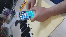 iPhone 5S Ekran Değişimi ( Otoglav İle Orjinal Cam Değişimi Glass Sc)