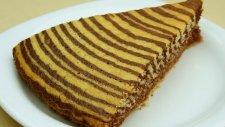 Zebra Kek Tarifi - Kolay Zebra Pasta Nasıl Yapılır