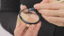 Makeup Application Jane Iredale Moonglow Bronzer