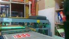 23x33 Cm Serigrafi Baskı Etiket