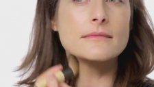 Makeup Application PurePressed Base SPF 20 mineral foundation