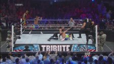 The Shield vs. Rey Mysterio & The Usos: Tribute to the Troops
