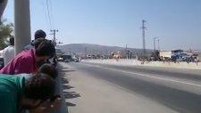 Akhisar Drag Yarışı Turbo dogan Slx talihsiz kaza 07 EED 14 [KmC]