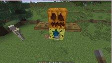Minecraft Demir Adam Kardan Adam Ve Kuş Yapımı [sesli Anlatım]