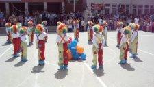 Denizli Katip Çelebi İlkokulu 23 Nisan 2014 Palyaço Gösterisi