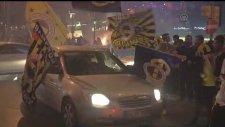 Bağdat Caddesi'nde şampiyonluk kutlamaları