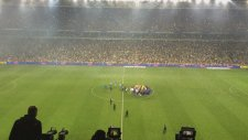 Fenerbahçe Şampiyonluk Kutlamaları (Maç sonu saha içi kamerası)