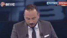 Ahmet Çakar canlı yayında muz yedi