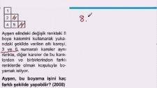 KPSS - Permütasyon Kombinasyon Soru Çözümleri