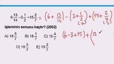 KPSS - Rasyonel Sayılar Soru Çözümleri