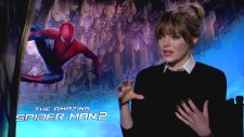 Emma Stone Interview - The Amazing Spider-Man 2 (2014)