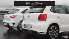 Drag - Seat Ibiza Cupra vs VW Polo GTI (Part 1)