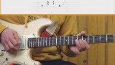 Gitar Dersi - Blues Solo Gitar Dersi Videosu 5
