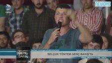 Trabzonlu Genç Ayakta Alkışlandı