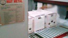 Çelik Teflon tava  tencere  mutfak Eşyaları Ve Mutfak Gereçleri  Shrink Makinesi