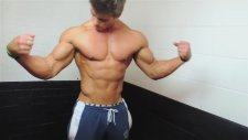 Crazy Ripped Teenager Flexing Abs and Muscles feat. Jeff Seid