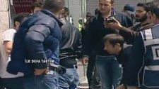 Polis Zorla Poşu Takıp Foto Çekti
