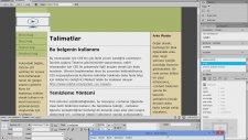 Dreamweaver İle Web Site Yapımı
