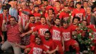 Balıkesirspor'un şampiyonluk kutlamaları