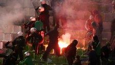 Panathinaikos - Paok maçında olaylar çıktı