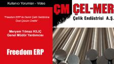 Freedom Erp İle Demir Çelik Sektörüne Özel Çözüm Ürettik - Meryem Yılmaz Kılıç