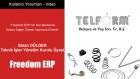 Freedom ERP'nin Her Modülünü Katma Değer Olarak Yapımıza Ekledik - Sinan DÜLGER