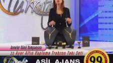 Turrata Trabzon Takı Seti - 22ayar Altın Kaplama 99tl