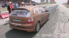 Honda Civic EP3 Typer 14.676 - 2014 Konya Dragları [KmC]