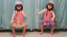 Sevimli İkizlerin Dans Performansı