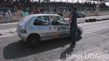 Saxo Turbo Drag Kazası - 2014 Konya Dragları [KmC]