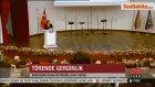 Başbakanç Erdoğan, Barolar Birliği Başkanı Konuşurken Bağırdı