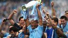 Şampiyon Manchester City kupasını aldı