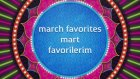Mart Favorilerim / Bollywood Edition