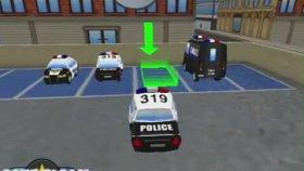 Polis Arabasi Park Etme Oyunu Oynama Videosu