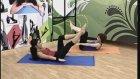 Burcu ile Pilates Karın ve Sırt Egzersizleri