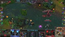 OMG vs Fnatic LoL All-Star 2014 Paris Groupstage Full Game   OMG VS FNC Day 1 Game 1