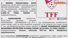 Samsunspor-Mersin İdmanyurdu Maçı Tarihe Geçecek
