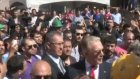 Soma'da Uğur Dündar'a Protesto