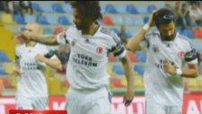Fenerbahçe Kayserispor'u 2-0 Mağlup Etti