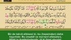 Kuran-I Kerim 8.cüz Dinle Veya Oku